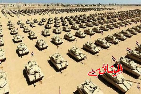 Iمصر:افتتاح أكبر قاعدة عسكرية في الشرق الأوسط