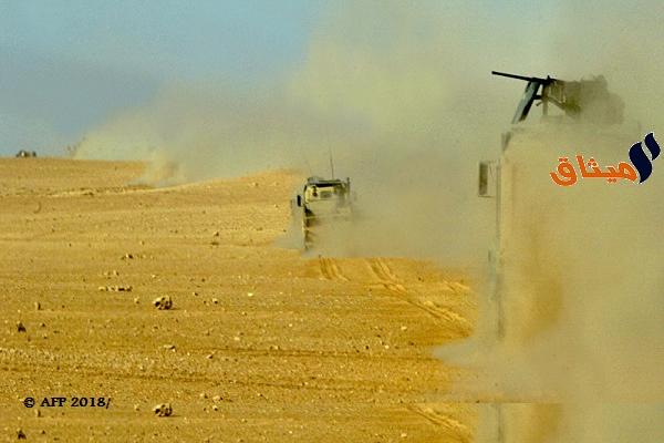 Iالجيش السوري يحبط محاولة تسلل مجموعة إرهابية من الأراضي اللبنانية