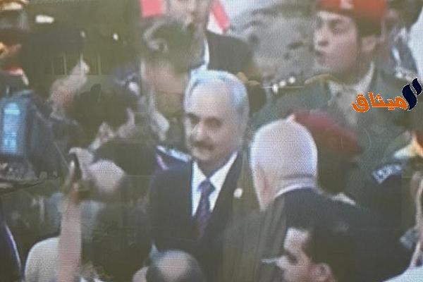Iوسائل إعلام ليبية: وصول قائد الجيش الوطني الليبي المشير خليفة حفتر إلى بنغازي