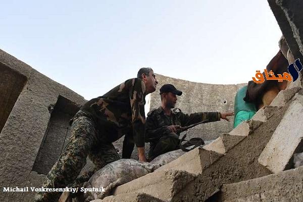 Iالجيش السوري يسيطر على منطقة