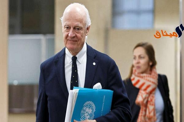Iدي ميستورا: سوريا معرضة للتفكك في حال لم يتم التوصل للسلام