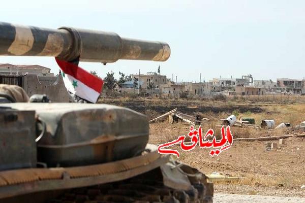 Iالجيش السوري يستعيد قريتين في محافظة دير الزور كانتا تحت قبضة