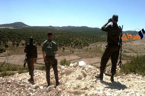 Iبوشبكة:ضبط شخصين متسللين من الحدود الجزائرية