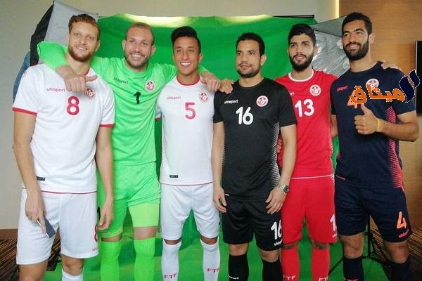 Iالتقديم الرسمي لزي المنتخب الوطني التونسي في كأس العالم(صور)
