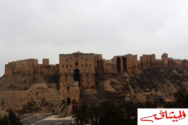 Iسوريا:قلعة حلب تستقبل أول رحلة سياحية منذ انتهاء القتال