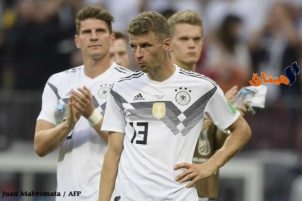 Iمونديال روسيا:ألمانيا تغلق تدريباتها بعد الخسارة أمام المكسيك