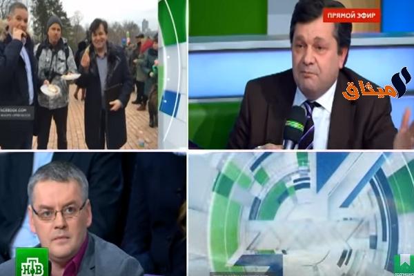 Iفيديو: لكمات وشتائم بين مقدّم برنامج وخبير سياسي