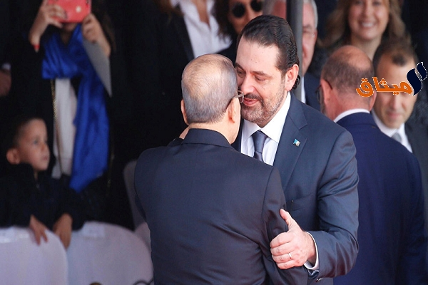 Iسعد الحريري يُعلن تعليق إستقالته