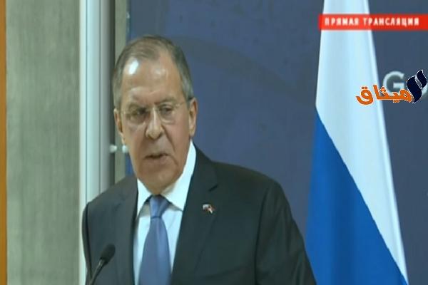 Iوزير الخارجية الروسي: الهدنة في سوريا يجب ألا تشمل