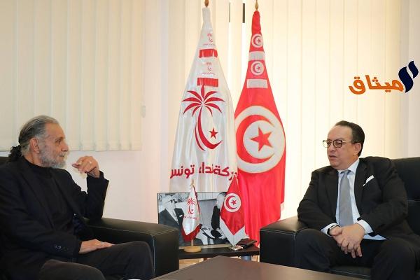 Iالإعلامي جميل الدخلاوي ينضم لنداء تونس