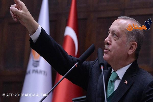Iالرئيس التركي:أوقفنا انتشار القوات الحكومية السورية في عفرين من خلال اتصالاتنا