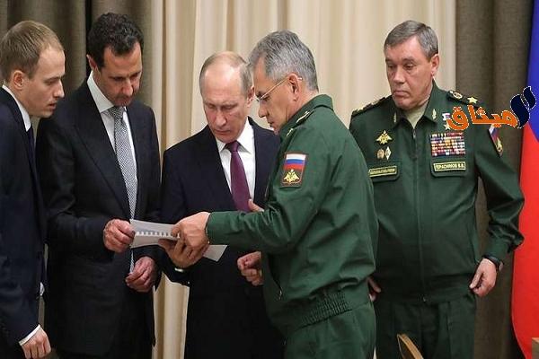 Iبوتين للأسد:نهاية الإرهاب قريبة