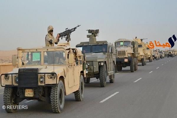 Iالجيش المصري: مقتل 4 مسلحين وتوقيف 112 في إطار عملية