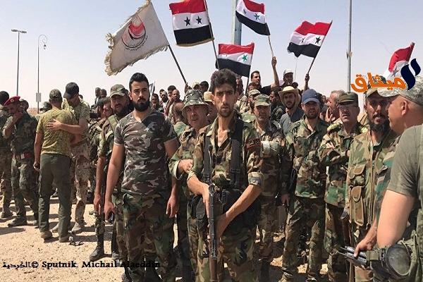 Iالجيش السوري يتسلم مدينة